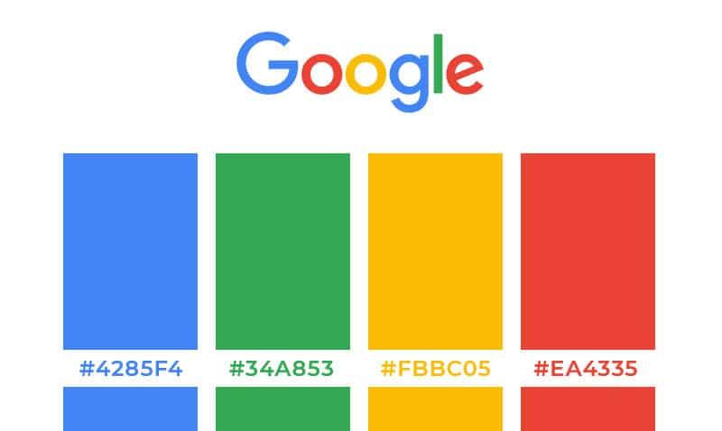 Couleurs Du Logo Google