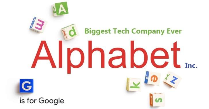 Google Devient Alphabet 2015