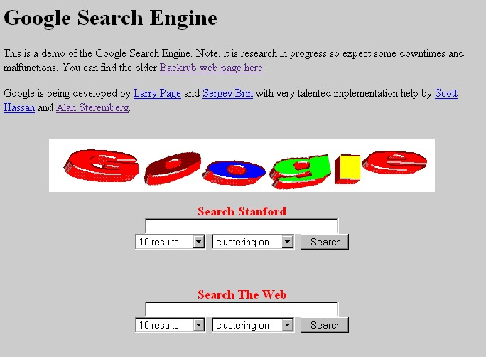 Google En 1996