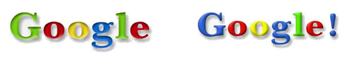 Logo Google de 1998