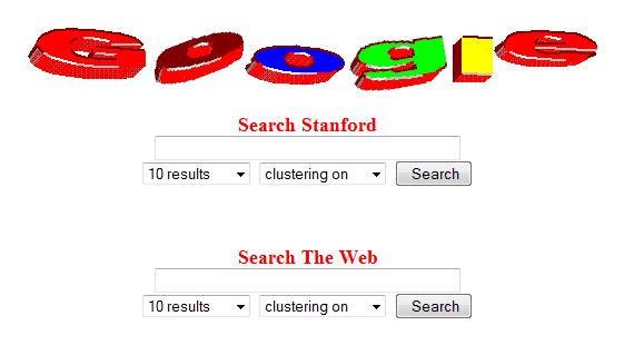 Premier Logo Google 1997