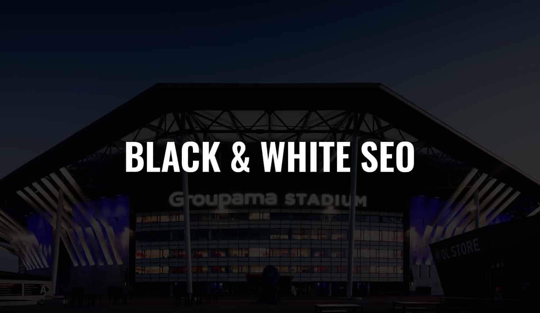 black and white seo 2022